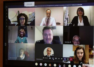 Le Conseil d'Administration de l'ESFAM s'est tenu en visioconférence.