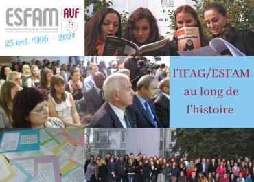 Un peu d'histoire sur l'ESFAM depuis 25 ans - quelques photos de nos archives