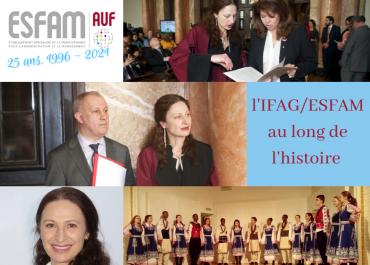 Mme Dessislava Tocheva et son <br> témoignage sur l'IFAG/ESFAM.