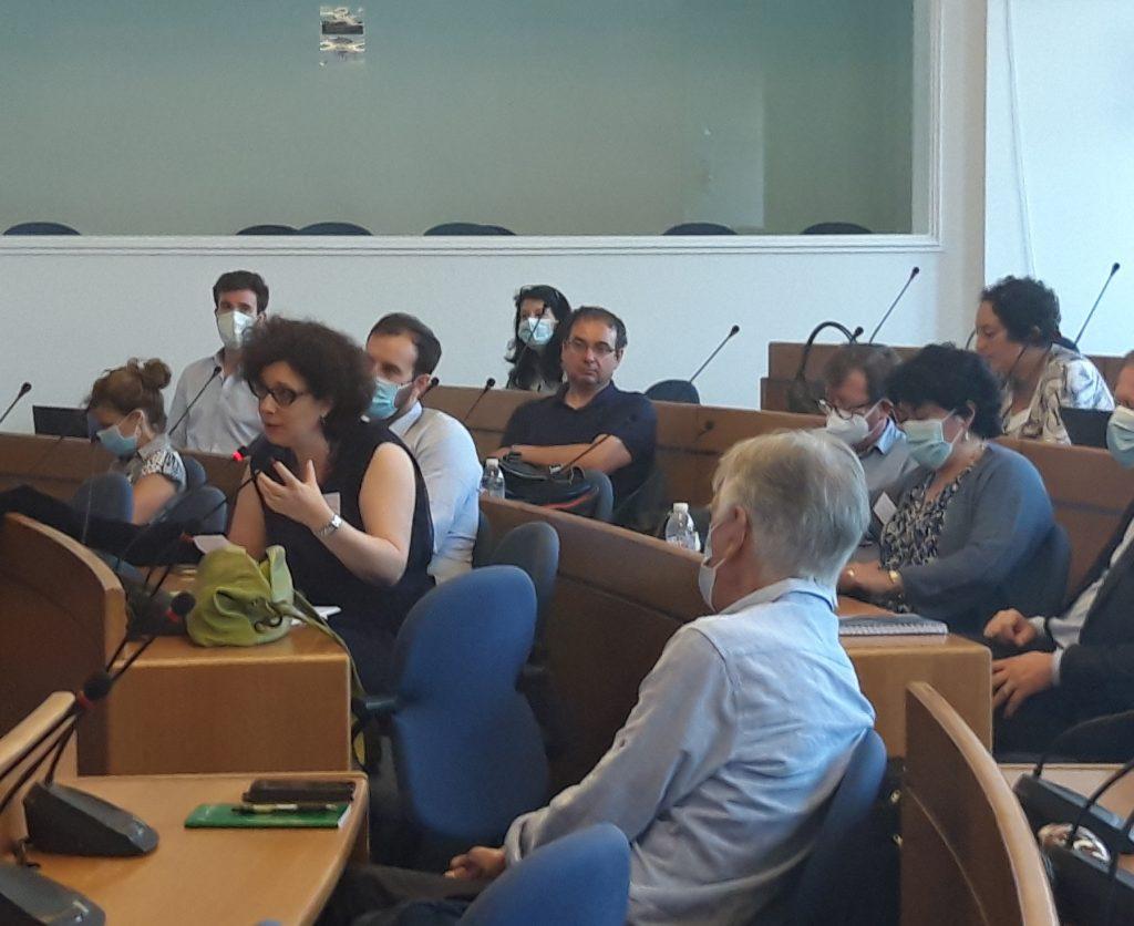 Seminaire scientifique d'ete Repenser l'espace avec la maire de Sofia_echanges